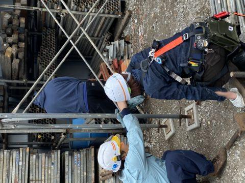 東京全域 昭島市で 架設工事 足場作業などを、しています!曉組です